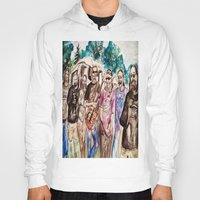 grateful dead Hoodies featuring Dark Star Orchestra Grateful Dead Painting by Acorn