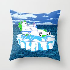 More Ice Please Throw Pillow