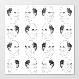 Kevin Malone Tiles Canvas Print