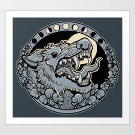 Beware The Moors Art Print