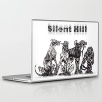 silent hill Laptop & iPad Skins featuring Silent Hill Hellhounds by nightriot