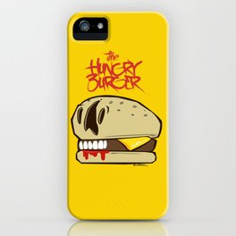 The Hungry Burger iPhone Case