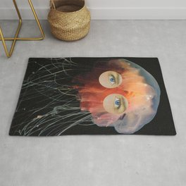 A (very) Jelly Fish Rug
