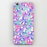 hawaiian iPhone & iPod Skins featuring Hawaiian flowers by Marta Olga Klara