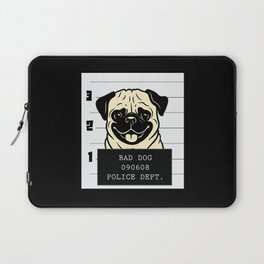 Pug Picture Funny Laptop Sleeve