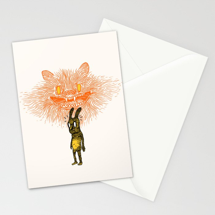 Scared Stiff Stationery Cards