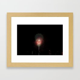 Fireworks make you wanna... (2) Framed Art Print