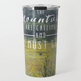 Mountains are Calling - The Smokys Travel Mug