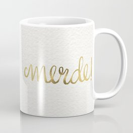 Pardon My French – Gold Ink Coffee Mug