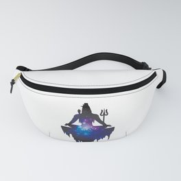 The Ancient Mystical Yogi Lord Shiva Fanny Pack