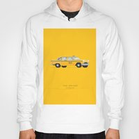 taxi driver Hoodies featuring Taxi Driver  | Famous Cars by Fred Birchal