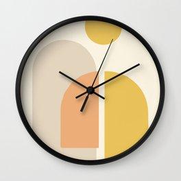 Geometric abstract minimal #shapes #geometric Wall Clock
