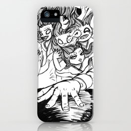 Inktober Day 3 iPhone Case