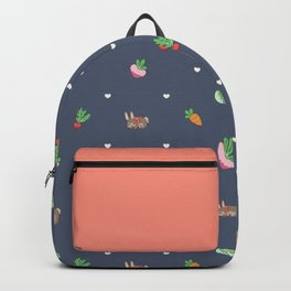 Sweet Harvest Rabbits Backpack