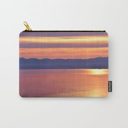 Stripes of Liquid Gold Carry-All Pouch