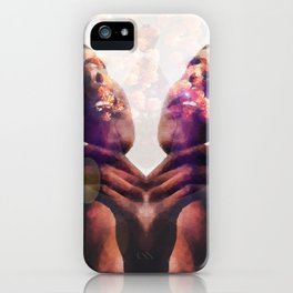 Godly Flowers iPhone Case