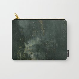 James Abbott McNeill Whistler Nocturne In Black And Gold Carry-All Pouch