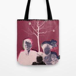 christmas portrait Tote Bag
