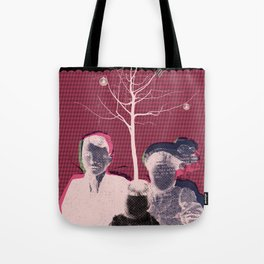 christmas portrait Tote Bag