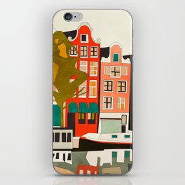 shapes houses of Amsterdam iPhone Skin