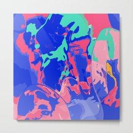 Make the colors pop Metal Print