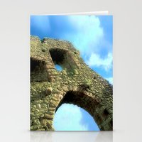 castle in the sky Stationery Cards featuring Castle by Brian Raggatt