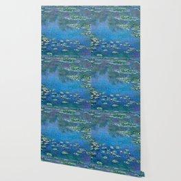 Claude Monet - Water Lilies Wallpaper