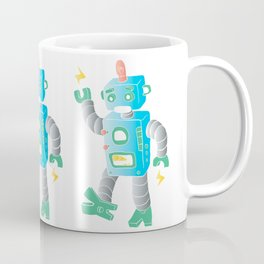 cartoon toy robot. Coffee Mug
