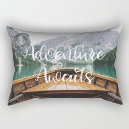Live the Adventure - Adventure Awaits Rectangular Pillow