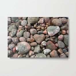 A Heart Of Stone Metal Print