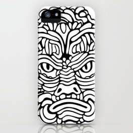 Swamp Anger iPhone Case