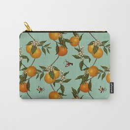 Orange Pattern I Carry-All Pouch