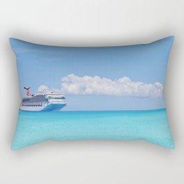 Cruisin' the Caribbean Rectangular Pillow