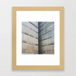 Edge nor corner Framed Art Print