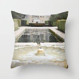 Two Moorish Fountains Throw Pillow