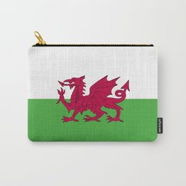 Wales flag emblem Carry-All Pouch