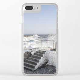 Sorolla brushstroke Clear iPhone Case