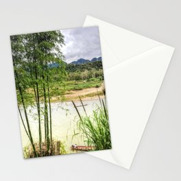 Mekong River Laos Stationery Cards