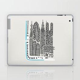 Tokyo Cityscape Laptop & iPad Skin