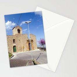 Medieval Church of Aidone in Sicily Stationery Cards