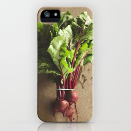 dropped the beet iPhone Case