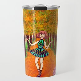 Bosque otoñal Travel Mug
