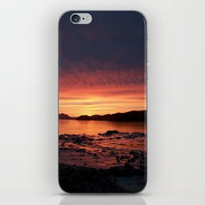 Frozen Sunset iPhone & iPod Skin