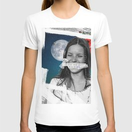 .The Day the Queen Was Born | Kate Moss. T-shirt
