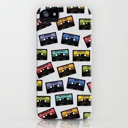 Rockin' Cassettes iPhone Case