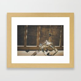 """""""And the day came Framed Art Print"""