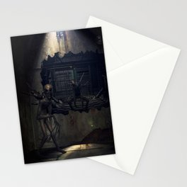 Demons come out to play Stationery Cards