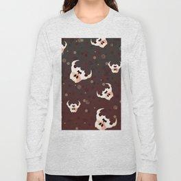 Evil Bunny Skulls Long Sleeve T-shirt