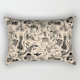 Arabian Nights // Desert Sand Rectangular Pillow