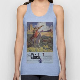 Vintage poster - The Chiefs Unisex Tank Top